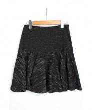 MAURIZIO PECORARO(マウリツィオ ペコラーロ)の古着「ペプラムスカート」|ブラック