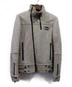 UNDERCOVERISM(アンダーカバーイズム)の古着「ムートンレザージャケット」|グレー