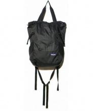 Patagonia(パタゴニア)の古着「Lightweight Travel Tote pack 2」 ブラック