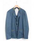 FRANK LEDER(フランクリーダー)の古着「TRIPPLE WASHED COTTON JKT」 ブルー