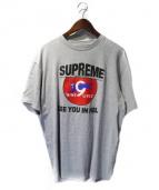 Supreme(シュプリーム)の古着「Nine Lives Tee」|グレー