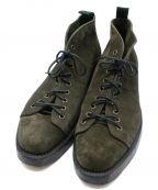 NEPCO FOOTWEAR(ネプコフットウェア)の古着「9-EYE MONKEY BOOT」|グリーン