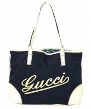 GUCCI(グッチ)の古着「トートバッグ」|ネイビー