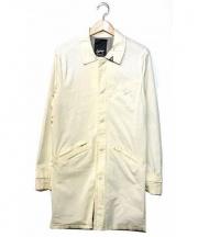 DENHAM(デンハム)の古着「ステンカラーコート」|アイボリー
