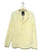 DENHAM(デンハム)の古着「ストレッチ2Bジャケット」 アイボリー