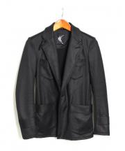 kiryuyrik(キリュウキリュウ)の古着「ジャージジャケット」|ブラック