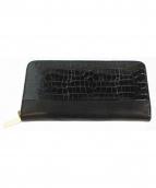 CHEMBUR(チェンバー)の古着「ラウンドファスナー長財布」|ブラック