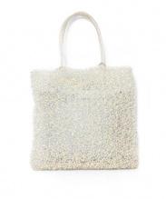 ANTEPRIMA(アンテプリマ)の古着「ワイヤーハンドバッグ」|シャンパンゴールド