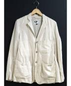 Engineered Garments(エンジニアードガーメンツ)の古着「リネン混ジャケット」|ベージュ
