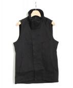 THEE OLD CIRCUS(ジオールドサーカス)の古着「スタンドネックベスト」|ブラック