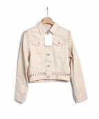 Ameri VINTAGE(アメリヴィンテージ)の古着「デニムジャケット」|ベージュ