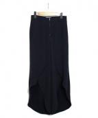 styling kei shirahata(スタイリングケイシラハタ)の古着「フレアスリットパンツ」|ブラック