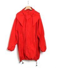 BALENCIAGA(バレンシアガ)の古着「ナイロンコート」|レッド