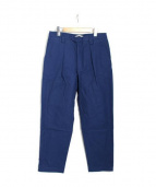 ACNE STUDIOS(アクネストゥディオズ)の古着「Ayranタックパンツ」|ブルー
