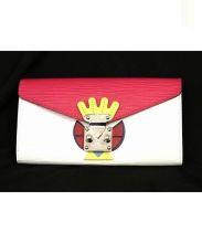 LOUIS VUITTON(ルイ・ヴィトン)の古着「2つ折り財布」|ピンク×ホワイト