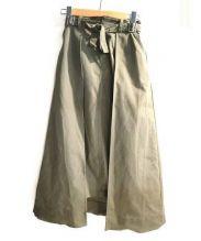 CLANE(クラネ)の古着「レイヤードスカート」|オリーブ
