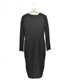 CELINE(セリーヌ)の古着「ジャージーワンピース」|ブラック