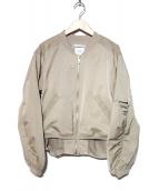emmi atelier(エミアトリエ)の古着「ライトMA-1ジャケット」