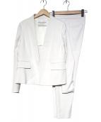 DES PRES(デプレ)の古着「レーヨンドビーパンツスーツ」|ライトグレー