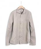VADEL(バデル)の古着「ワイヤー入りシャツ」|ベージュ