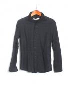 VADEL(バデル)の古着「ワイヤー入りシャツ」|ブラック