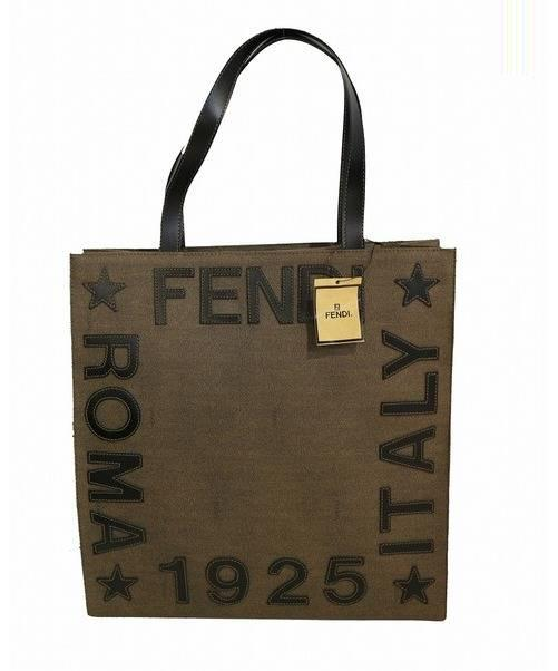 detailed pictures 66d62 67f65 [中古]FENDI(フェンディ)のメンズ バッグ ロゴステッチトートバッグ