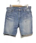 Ron Herman(ロンハーマン)の古着「スウェットデニムショーツ ハーフパンツ パンツ」