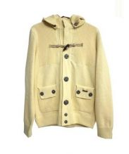 BARK(バーク)の古着「ニットジャケット」|イエロー