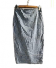 MADISON BLUE(マディソンブルー)の古着「ソフィーデニムタイトスカート」|ライトブルー
