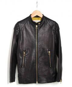 DRESSTERIOR(ドレステリア)の古着「レザージャケット」 ブラック