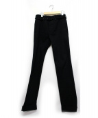 BALENCIAGA(バレンシアガ)の古着「アジャスタースラックス」|ブラック