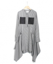 AMBELL(アンベル)の古着「ギンガムデザインワンピース」|ブラック×ホワイト