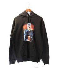 Supreme(シュプリーム)の古着「Hell on Earth Hooded Sweatshir」|ブラック