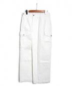 AMERICAN RAG CIE(アメリカンラグシー)の古着「リメイクカーゴマキシスカート」|ホワイト