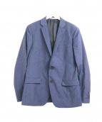 Calvin Klein platinum(カルバン・クライン プラティナム)の古着「ウォッシャブル2Bジャケット」|ネイビー