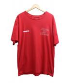 NEIGHBORHOOD(ネイバーフッド)の古着「プリントTシャツ」|レッド