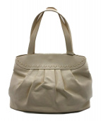 FURLA(フルラ)の古着「レザートートバッグ」 オフホワイト