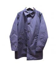 BEAMS(ビームス)の古着「ダウンライナーステンカラーコート」|ネイビー