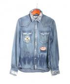 M(エム)の古着「ヴィンテージデニムシャツ」|ブルー