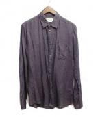 Maison Martin Margiela14(メゾンマルタンマルジェラ14)の古着「リネンシャツ」 グレー