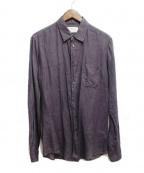 Maison Martin Margiela14(メゾンマルタンマルジェラ14)の古着「リネンシャツ」|グレー