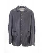 GIORGIO BRATO(ジョルジオブラット)の古着「レザージャケット」|ブラック