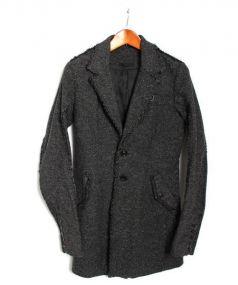 KMRII(ケムリ)の古着「カットオフチェスターコート」|ブラック