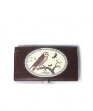 Simon Edition Poshetto(シモンエディションポシェット)の古着「2つ折り長財布」|ブラウン