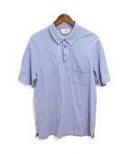 HERMES(エルメス)の古着「Hロゴポロシャツ」|ブルー