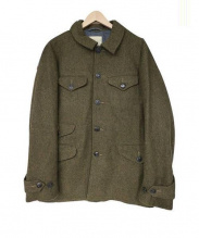 MONITALY(モニタリー)の古着「メルトンジャケット」|オリーブ