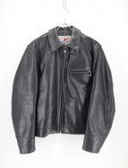 AERO LEATHER(エアロレザー)の古着「ステアハイドトラッカージャケット」