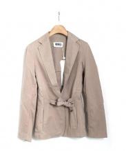MM6(エムエムシックス)の古着「デザインジャケット」|ベージュ