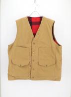 FILSON GARMENT(フィルソンガーメント)の古着「アンティークティンクロスベスト」