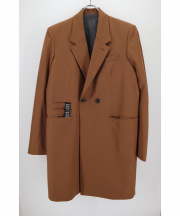 SHAREEF(シャリーフ)の古着「DOUBLE CHESTER COAT」